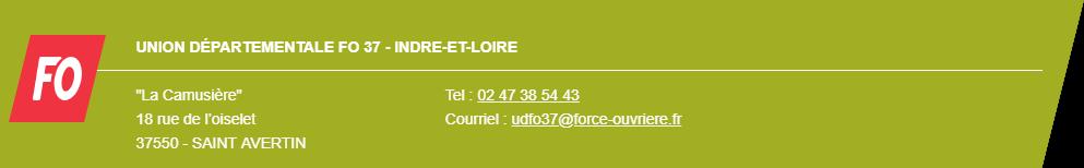 Union départementale FO 37 - Indre & Loire
