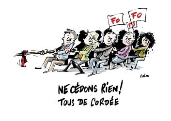 Réunion ASH FO : prise de position de 16 collègues