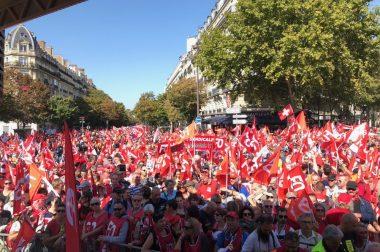 Rassemblement du 21 septembre contre la réforme des retraites: Force Ouvrière montre sa détermination.