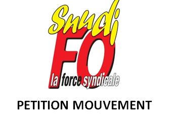 Pétition pour le mouvement [MAJ du 15/02]: ajout d'un formulaire en ligne