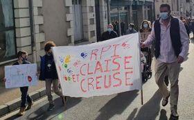 Mobilisation au RPI Preuilly sur Claise – Yzeures sur Creuse